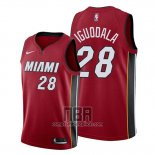 Camiseta Miami Heat Andre Iguodala NO 28 Statement 2019-20 Rojo