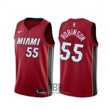 Camiseta Miami Heat Duncan Robinson NO 55 Statement Rojo