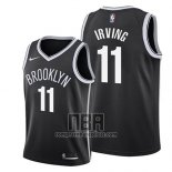 Camiseta Nino Brooklyn Nets Kyrie Irving NO 11 Icon 2019 Negro