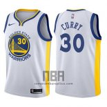 Camiseta Nino State Golden State Warriors Stephen Curry NO 30 Blanco