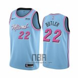 Camiseta Miami Heat Jimmy Butler NO 22 Ciudad Azul