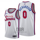 Camiseta Philadelphia 76ers Josh Richardson NO 0 Classic 2019-20 Blanco