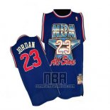 Camiseta All Star 1992 Michael Jordan NO 23 Azul