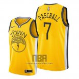 Camiseta Golden State Warriors Eric Paschall NO 7 Earned 2019-20 Amarillo