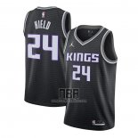 Camiseta Sacramento Kings Buddy Hield NO 24 Statement 2020-21 Negro