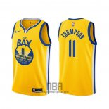 Camiseta Golden State Warriors Klay Thompson NO 11 Statement 2019-20 Oro