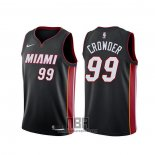 Camiseta Miami Heat Jae Crowder NO 99 Icon Negro