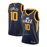Camiseta Utah Jazz Mike Conley NO 10 Icon 2020-21 Azul