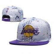 Gorra Los Angeles Lakers Snapback Violeta