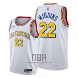 Camiseta Golden State Warriors Andrew Wiggins NO 22 Classic 2019-20 Blanco