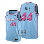 Camiseta Miami Heat Solomon Hill NO 44 Ciudad 2019-20 Azul