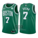 Camiseta Nino Boston Celtics Jaylen Brown NO 7 Icon 2017-18 Verde