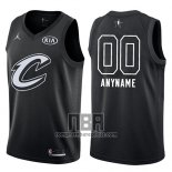 Camiseta All Star 2018 Cleveland Cavaliers Nike Personalizada Negro