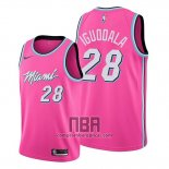 Camiseta Miami Heat Andre Iguodala NO 28 Earned 2019-20 Rosa