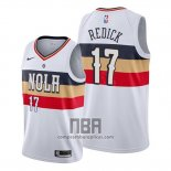 Camiseta New Orleans Pelicans J.j. Redick NO 17 Earned Blanco