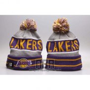 Gorro Beanie Los Angeles Lakers Violeta