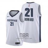 Camiseta Memphis Grizzlies Dwight Howard NO 21 Association Blanco