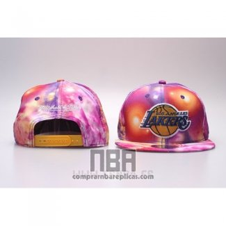 Gorra Los Angeles Lakers Snapback Rosa