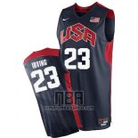 Camiseta USA 2012 Kyrie Irving NO 23 Negro