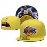 Gorra Los Angeles Lakers Lebron James 9FIFTY Snapback Amarill