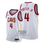 Camiseta Cleveland Cavaliers Kevin Porter Jr. NO 4 Association 2019-20 Blanco