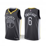 Camiseta Golden State Warriors Alen Smailagic NO 6 Statement 2019-20 Negro