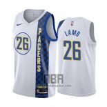 Camiseta Indiana Pacers Jeremy Lamb NO 26 Ciudad Blanco