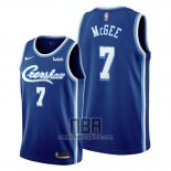 Camiseta Los Angeles Lakers Javale Mcgee NO 7 Classic Edition 2019-20 Azul
