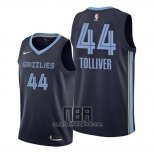 Camiseta Memphis Grizzlies Anthony Tolliver NO 44 Statement 2020 Azul