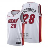 Camiseta Miami Heat Andre Iguodala NO 28 Association 2019-20 Blanco