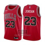 Camiseta Nino Chicago Bulls Michael Jordan NO 23 2017-18 Rojo