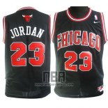 Camiseta Nino Chicago Bulls Michael Jordan NO 23 Negro2