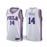 Camiseta Philadelphia 76ers Norvel Pelle NO 14 Association 2019-20 Blanco