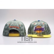 Gorra Los Angeles Lakers Snapback Verde Amarillo