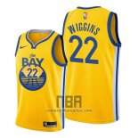 Camiseta Golden State Warriors Andrew Wiggins NO 22 Statement 2019-20 Amarillo