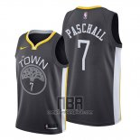 Camiseta Golden State Warriors Eric Paschall NO 7 Statement 2019-20 Negro