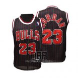 Camiseta Nino Chicago Bulls Michael Jordan NO 23 Negro