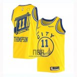 Camiseta Golden State Warriors Draymond Green NO 11 Classic 2019-20 Amarillo