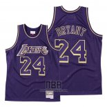 Camiseta Los Angeles Lakers Kobe Bryant NO 24 2020 Chinese New Year Throwback Violeta
