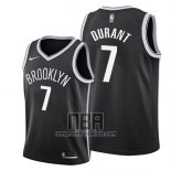Camiseta Nino Brooklyn Nets Kevin Durant NO 7 Icon 2019 Negro