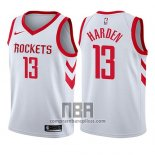 Camiseta Nino Houston Rockets James Harden NO 13 Association 2017-18 Blanco