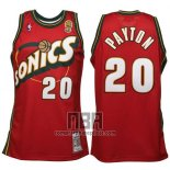 Camiseta Seattle SuperSonics Gary Payton NO 20 Historic Retro Rojo
