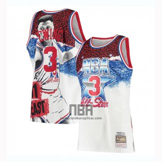 Camiseta All Star 1991 Patrick Ewing NO 3 Blanco