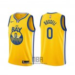 Camiseta Golden State Warriors D'angelo Russell NO 0 Statement 2019-20 Oro