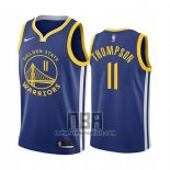 Camiseta Golden State Warriors Klay Thompson NO 11 Icon 2019-20 Azul