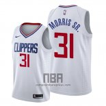 Camiseta Los Angeles Clippers Marcus Morris Sr. NO 31 Association 2019-20 Blanco
