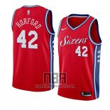 Camiseta Philadelphia 76ers Al Horford NO 42 Statement 2019-20 Rojo